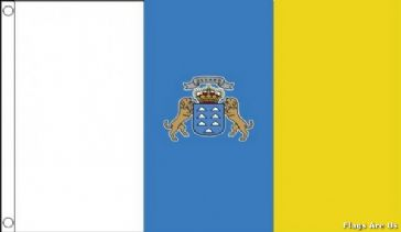 Canary Islands  (With Crest)
